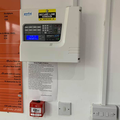 fire alarm systems in Swansea